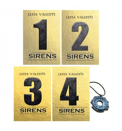 PACK SIRENS (4 LIBROS)